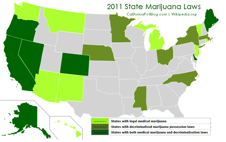 marijuana-lois-par-etats-2011
