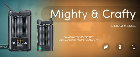 Comparatif vaporisateurs portables Mighty et Crafty !